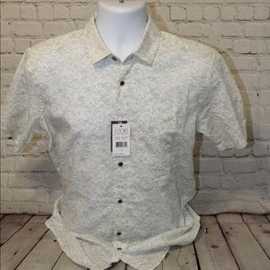 NWT Ike Behar Button Up mens Small
